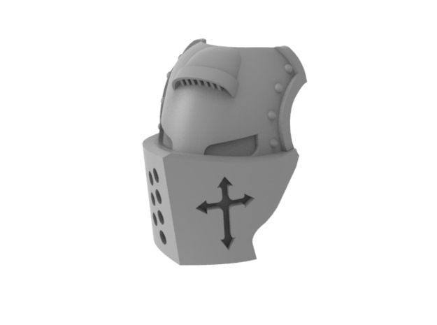 Templar Knight - Mask in Frosted Ultra Detail