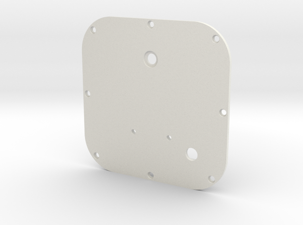 GPSUnit in White Natural Versatile Plastic