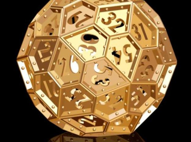 The Rosetta Dice #2 (60) 3d printed Description