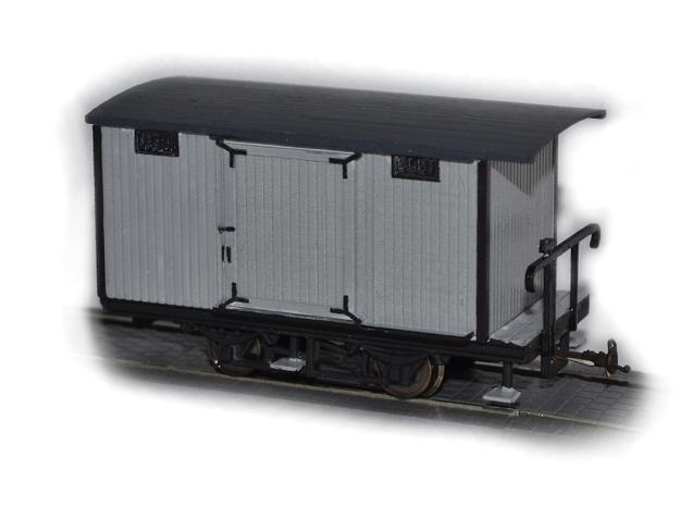 WLB / NWT Dampftramwaygüterwagen 3d printed