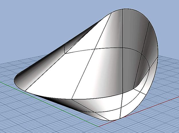 oloid II 3d printed