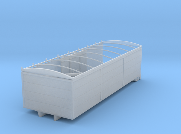 1/64 Grain Box 24foot in Smooth Fine Detail Plastic