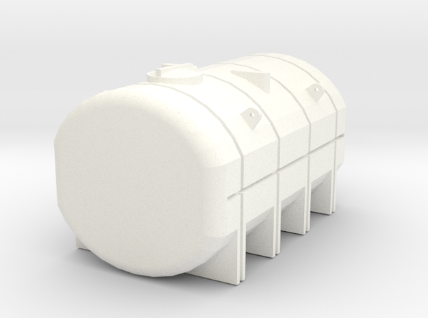 1/64 3750 Gallon Tank in White Strong & Flexible Polished