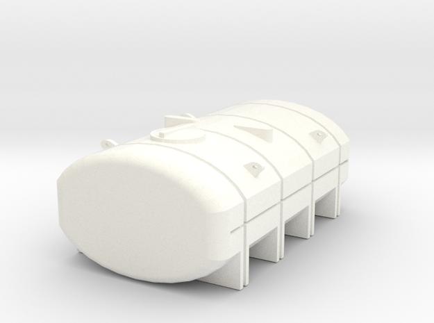 1/64 2350 Gallon Tank in White Processed Versatile Plastic