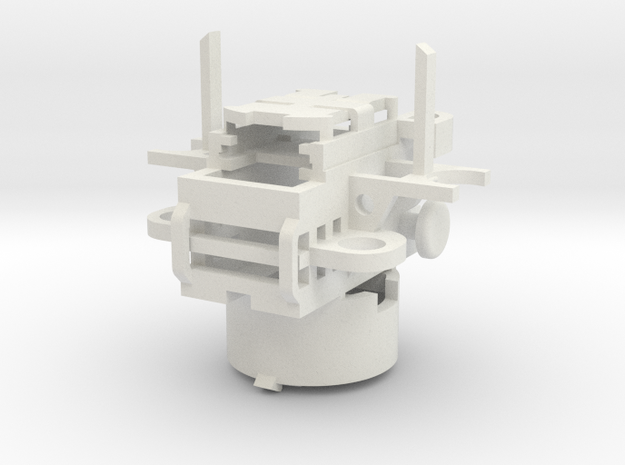 Thermal Detonator Chassis V2 in White Strong & Flexible