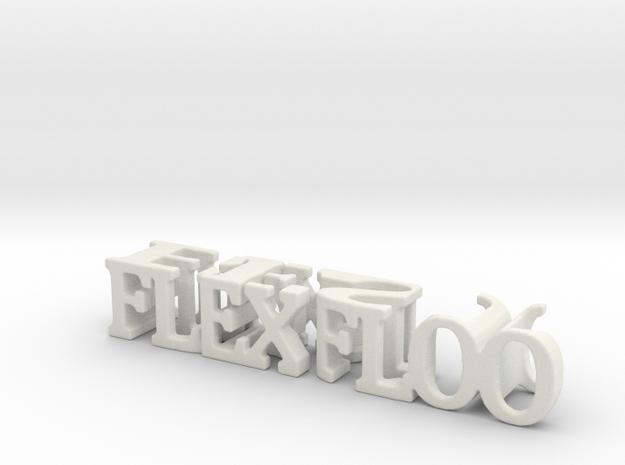 3dWordFlip: flexfloo/best in White Natural Versatile Plastic