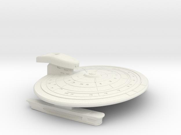Movie Era Reimagined Ship in White Natural Versatile Plastic