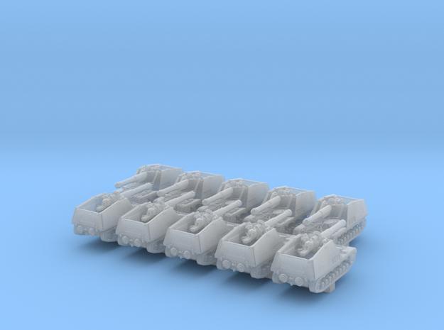 1/600 German Nashorn Tank Destroyer x10 in Smoothest Fine Detail Plastic