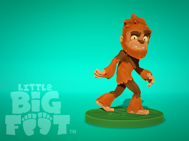 Little Bigfoot Classic Medium in Full Color Sandstone