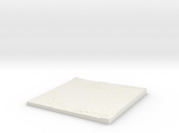 Rusholme W380 S390 E390 N400  in White Natural Versatile Plastic