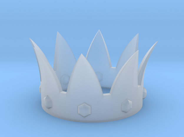 Crown in Frosted Ultra Detail