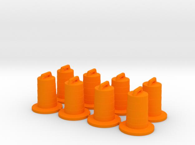8 Traffic Barrels, Standard