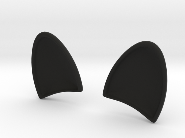 DOGs EARS for  dash board in Black Natural Versatile Plastic