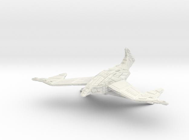 Battlehawk in White Natural Versatile Plastic