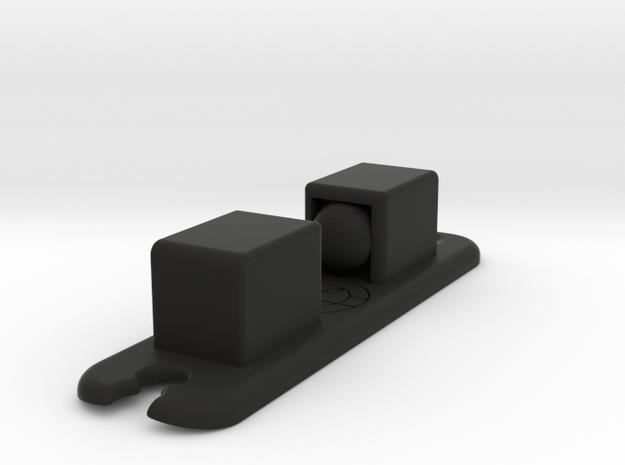 Darth Vader ROTJ lightsaber part: DOOR-CATCH in Black Natural Versatile Plastic