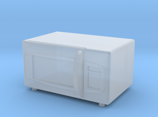 1:64 Microwave in Smooth Fine Detail Plastic
