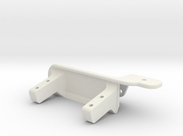 ​Passenger side differential - Servo mount AR60 -V in White Natural Versatile Plastic