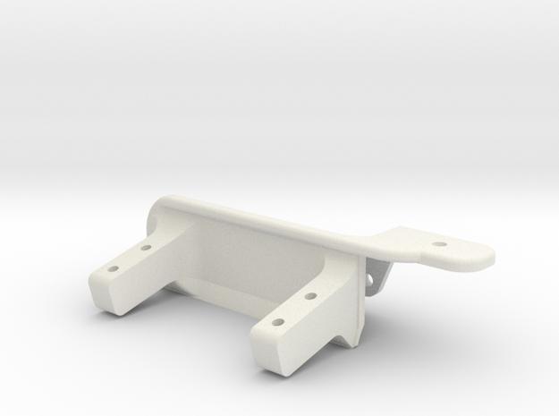 Passenger side differential - Servo mount AR60 -V in White Natural Versatile Plastic