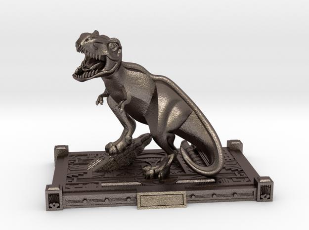 Art Deco T Rex statue