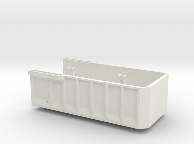 AS18 Grain Bed in White Natural Versatile Plastic