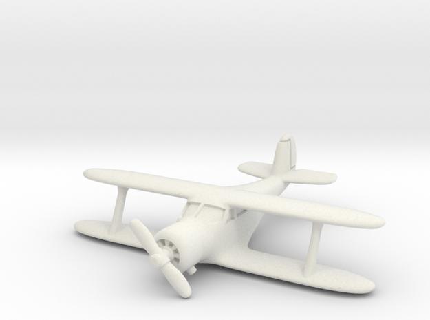 Beech UC-43 Traveler 1/200 in White Natural Versatile Plastic