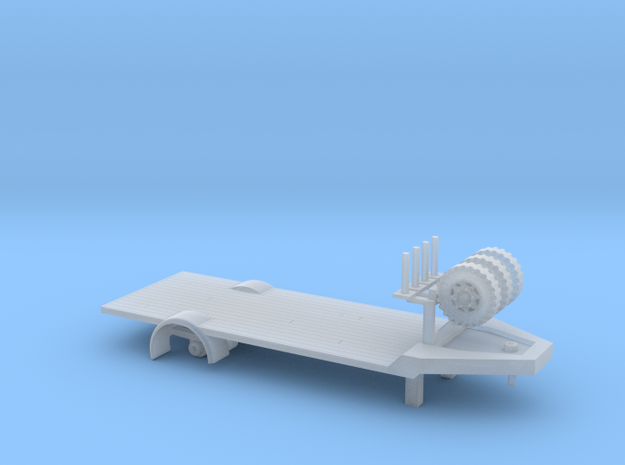 trailer at scale 1:148 in Smooth Fine Detail Plastic