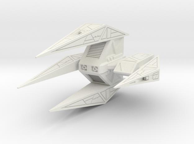 Wing Commander Kilrathy Paktahn Heavy Bomber in White Natural Versatile Plastic