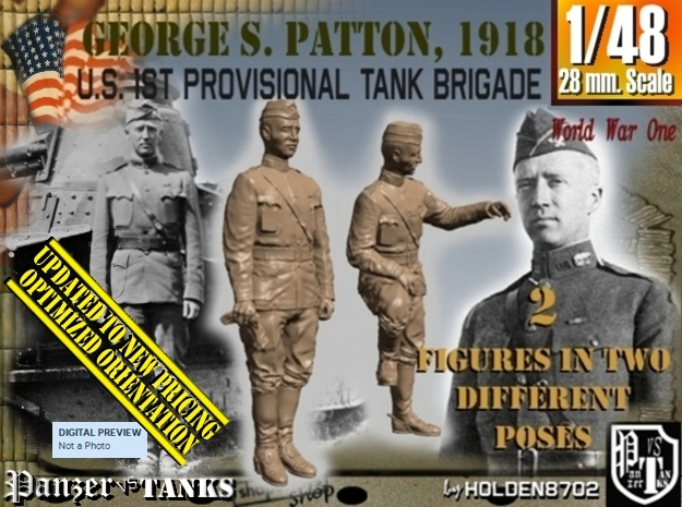 1-48 George S Patton 1918