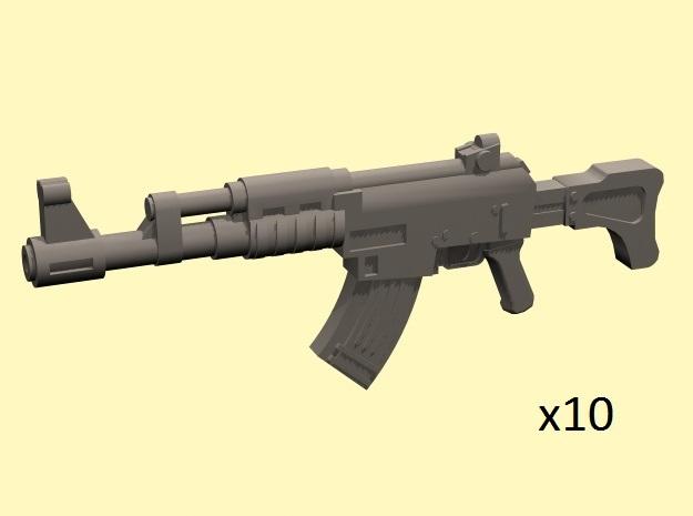 28mm SciFi AK style assault rifles (10)