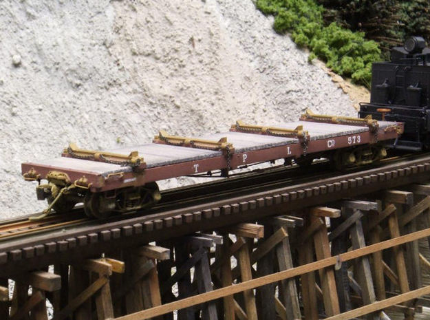 HO Scale - TPLCo Log Car