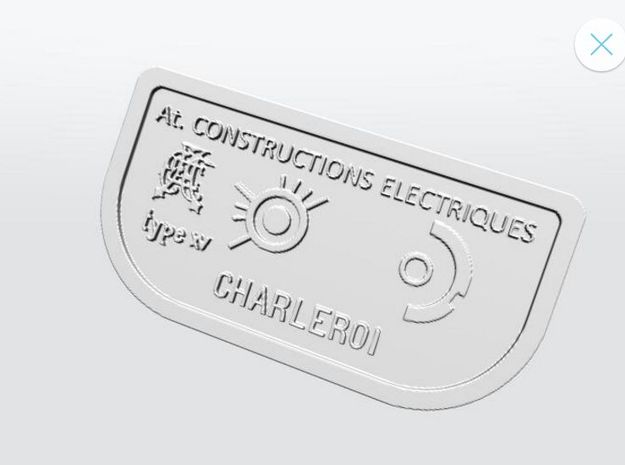 SNCV controller XV (1/2)-NMVB controller XV (1/2) in Frosted Ultra Detail