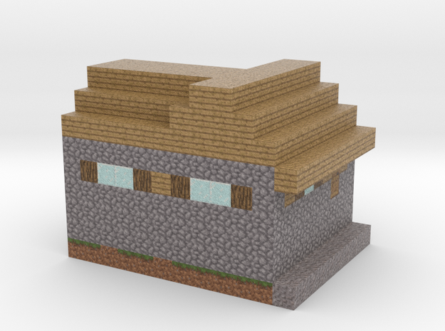 Minecraft Godes Villagehome  in Full Color Sandstone