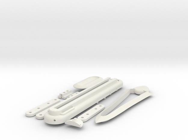 Assassins Creed Origins Bayek - Hidden Blade in White Strong & Flexible