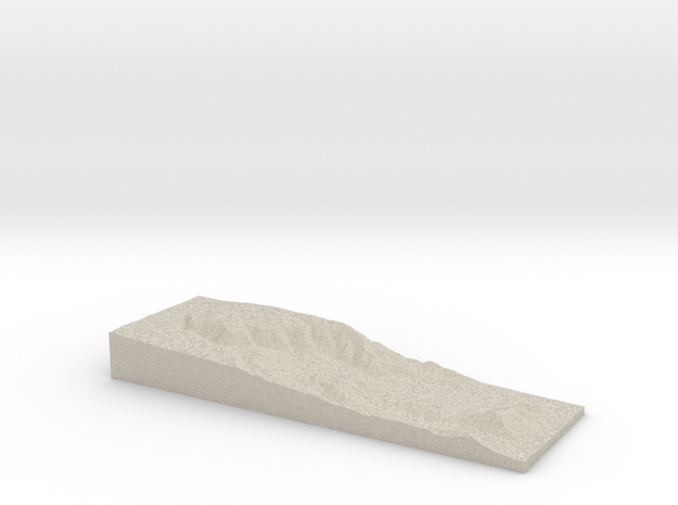 Model of Father Crowley Viewpoint in Natural Sandstone