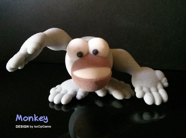boOpGame Shop - The Monkey in Full Color Sandstone