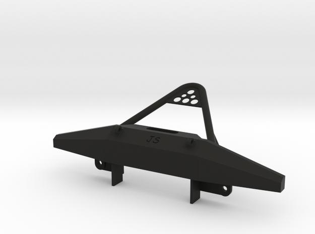 Bumper and stinger for 1:10 XJ hard body fitting G in Black Natural Versatile Plastic