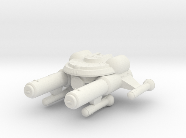 3788 Scale Seltorian Dreadnought (DN) MGL in White Strong & Flexible