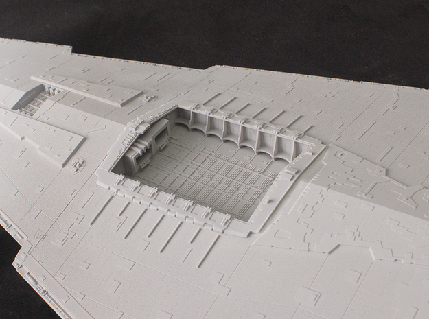 Hangar Bay for 1/2700 Revell/Zvezda Star Destroyer