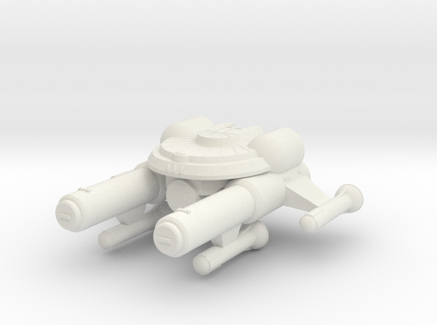 3125 Scale Seltorian Dreadnought (DN) MGL in White Strong & Flexible