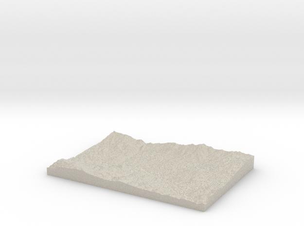 Model of Aghutadzor in Sandstone