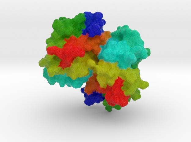 Oxyhaemoglobin in Full Color Sandstone
