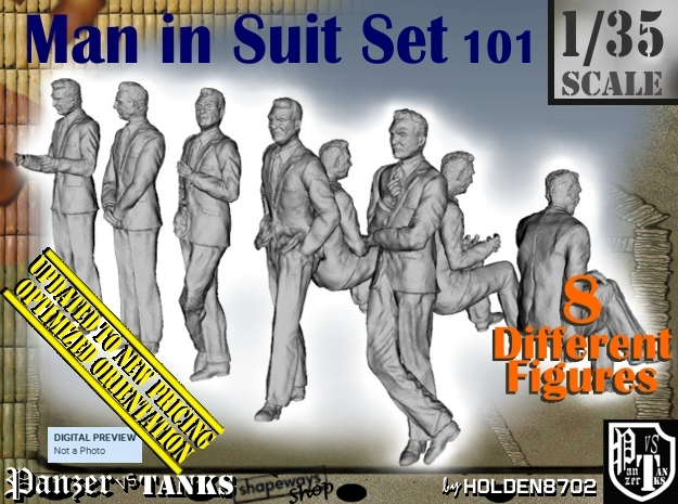 1/35 Man In Suit Set101