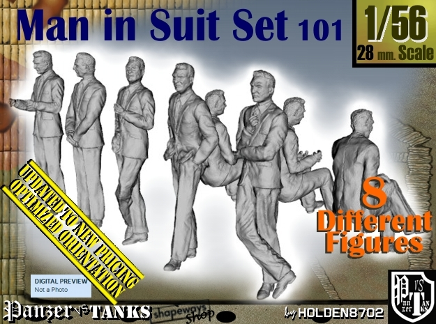 1/56 Man In Suit Set101