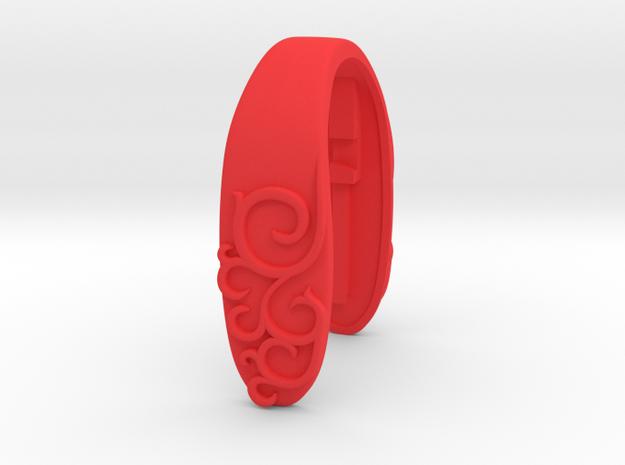 ANTIQUE SLIM KEY FOB  in Red Processed Versatile Plastic