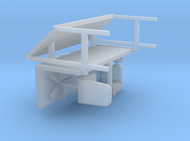 Office Furniture 1-64 Scale in Smooth Fine Detail Plastic