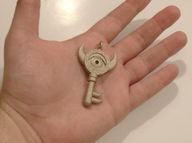 Boss Key WW Large 3d printed Boss Key WW Large - printed in Stainless Steel