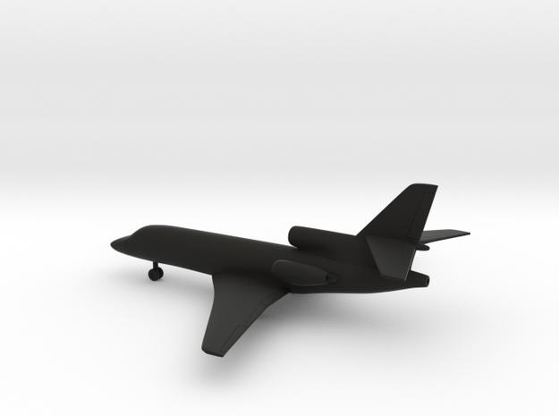 Dassault Falcon 50 in Black Strong & Flexible: 1:200