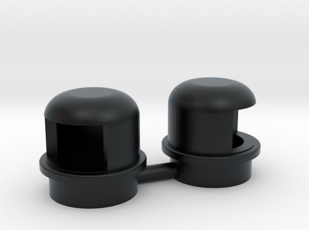 Navigation Light Wellcraft SC38 1:10 in Black Hi-Def Acrylate