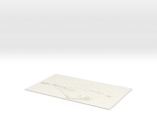 Isle of Wight W428 S75 E468 N99  in White Natural Versatile Plastic