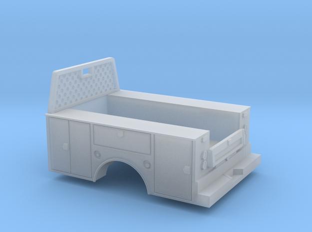 Standard Full Box Truck Bed W Cab Guard 1-87 HO Sc